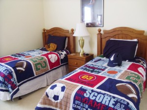 Twin Bedroom - Closest to the Magic